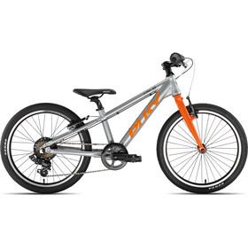 """Puky S-Pro 20-7 Alu 20"""" Enfant, silver/orange"""
